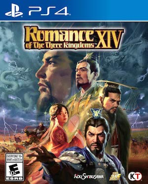 Romance of the Three Kingdoms XIV Box Art