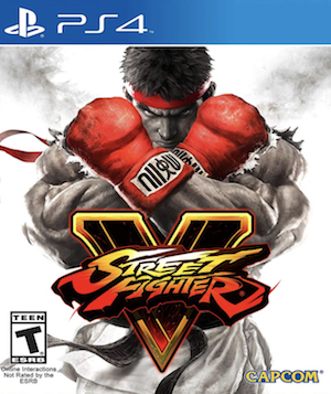 Street Fighter 5 Box Art