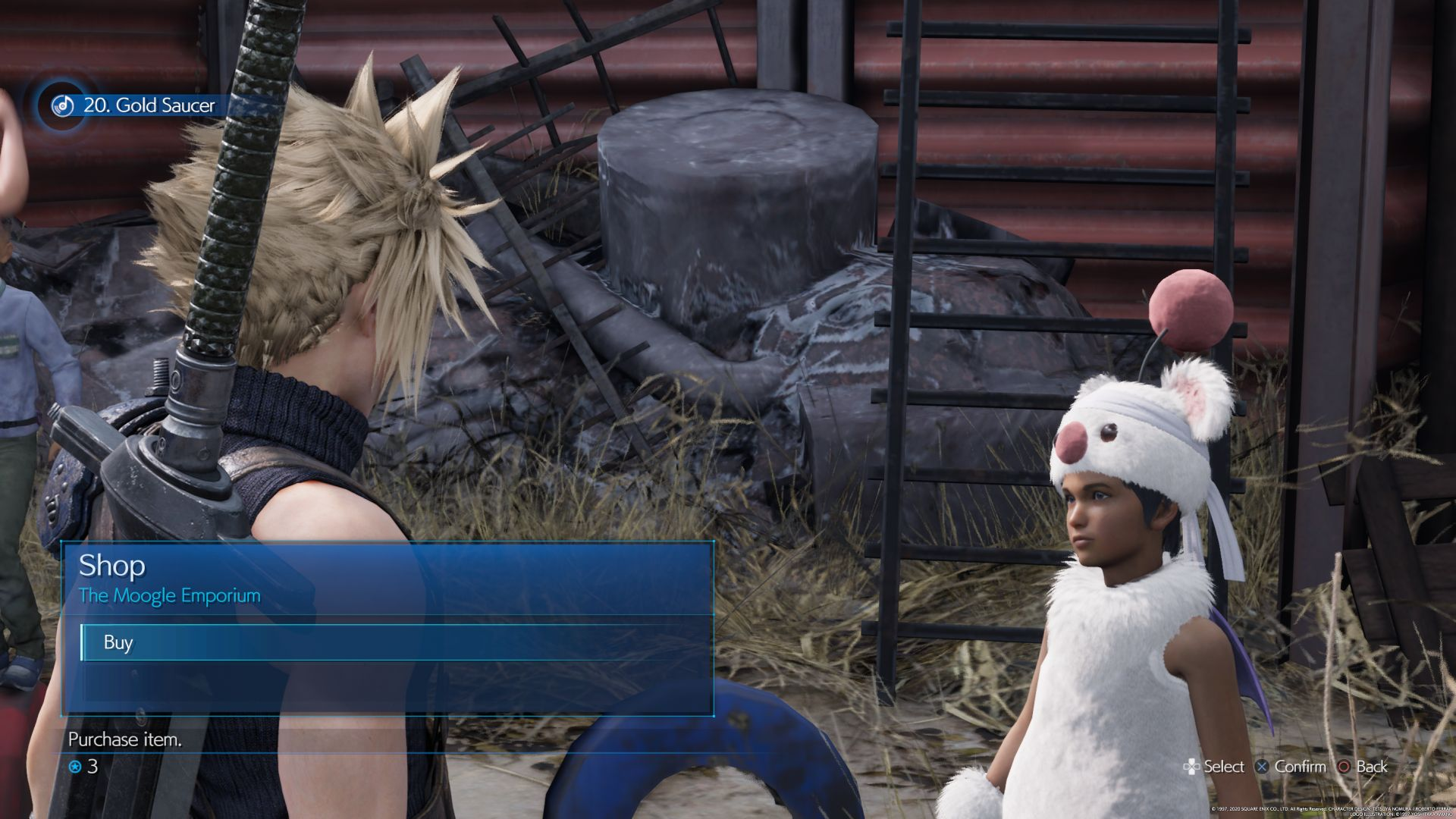 Final Fantasy 7 Remake - Moogle Emporium