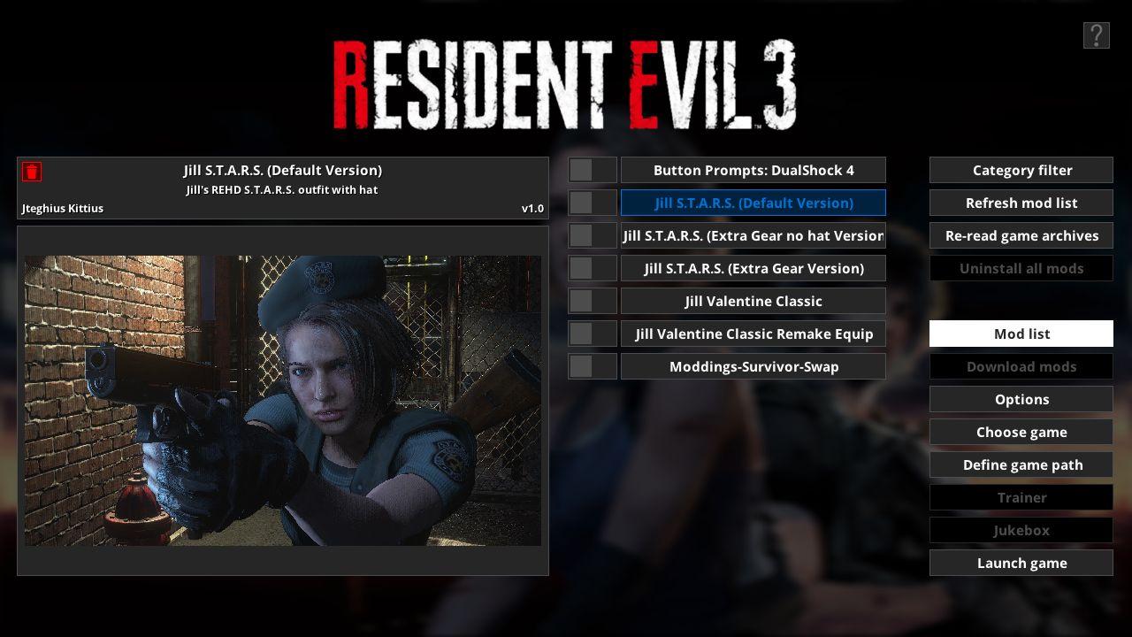 Resident Evil 3 - Fluffy Manager 5000