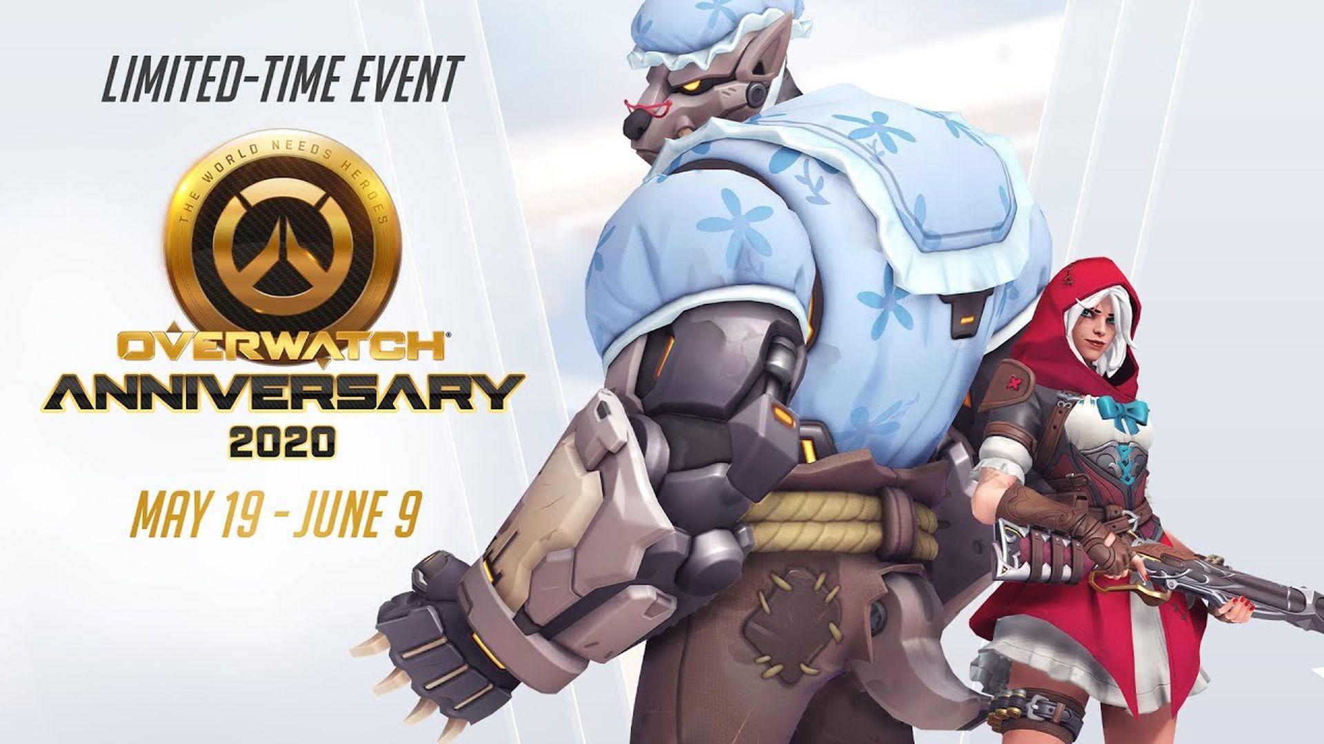 Overwatch - Anniversary Event
