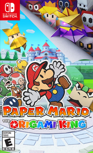 Paper Mario: The Origami King Box Art
