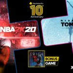 NBA 2K20, Rise of the Tomb Raider, and Erica Free With PlayStation Plus in July