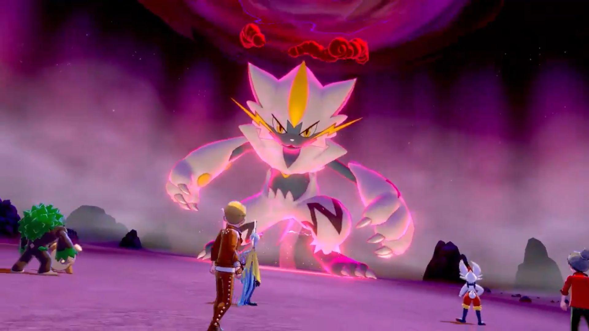 Pokemon Sword and Shield - Zeraora raid