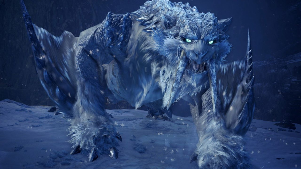 Monster Hunter World Iceborne Frostfang Barioth Coming July 9th