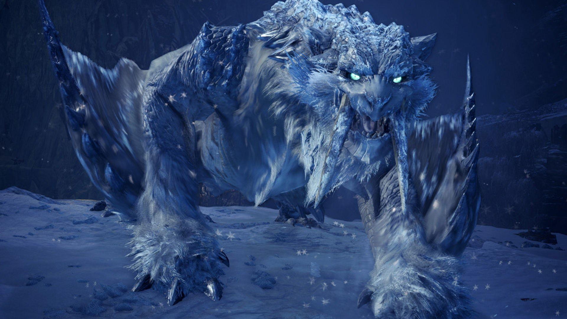 Monster Hunter World Iceborne - Frostfang Barioth