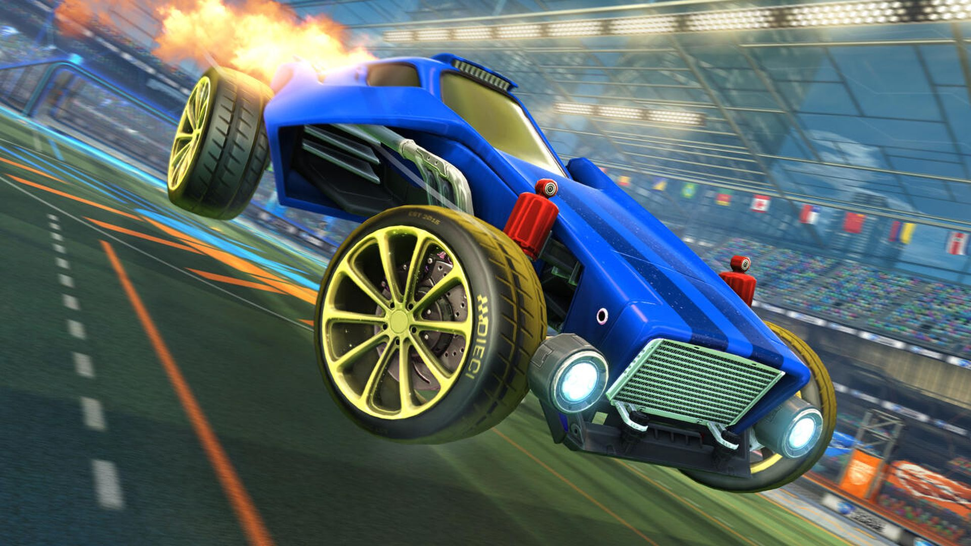 Rocket League Going Free to Play This Summer