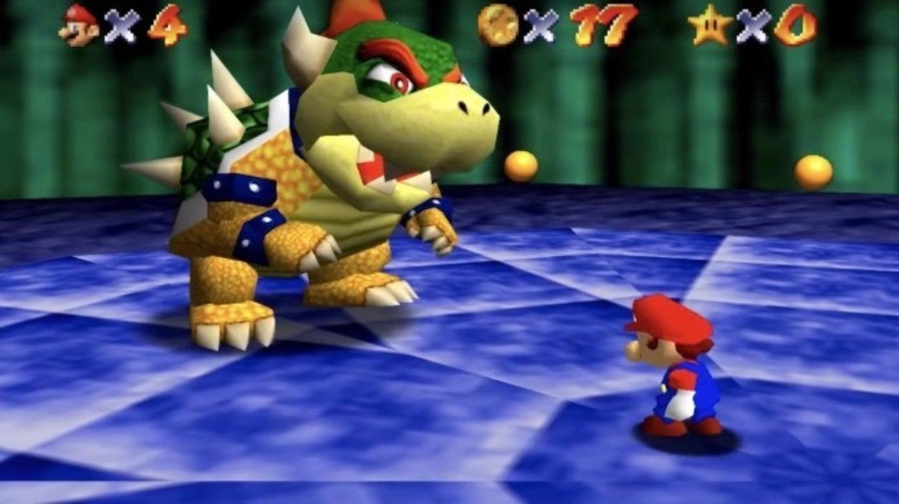 Super Mario 64 - Bowser