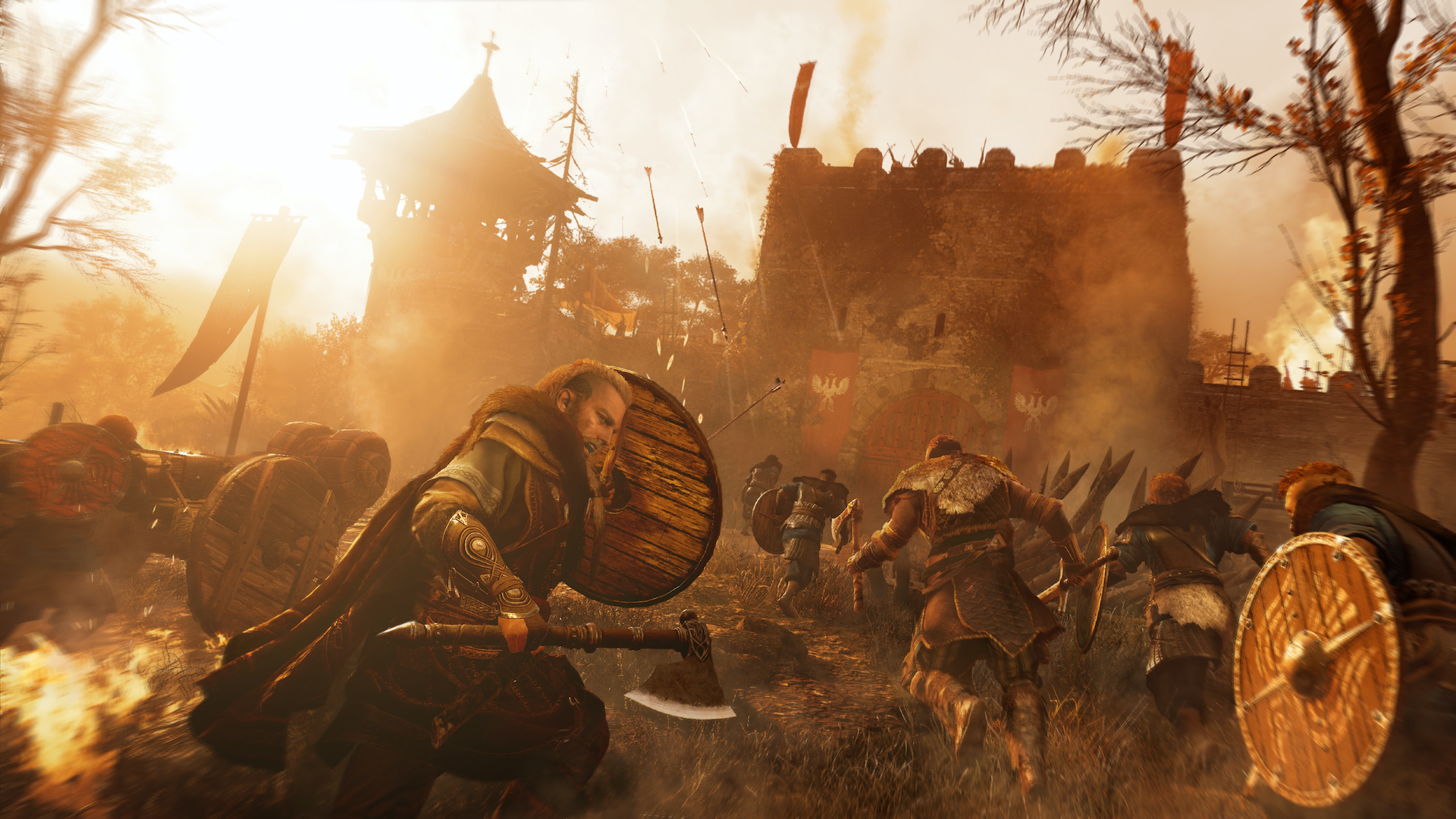 Assassin S Creed Valhalla Includes Cats As Recruitable Raiders
