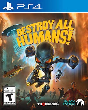 Destroy All Humans! (2020) Box Art