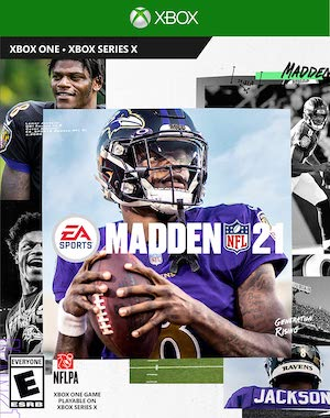 Madden NFL 21 Box Art