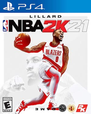NBA 2K21 Box Art