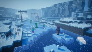 Minecraft Dungeons: Creeping Winter Months DLC is Now Readily Available thumbnail