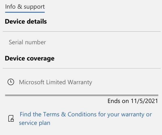 Xbox Series Controller warranty