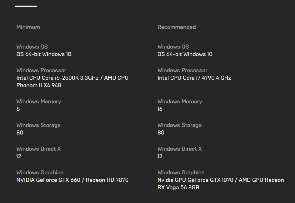hitman 3 system requirements