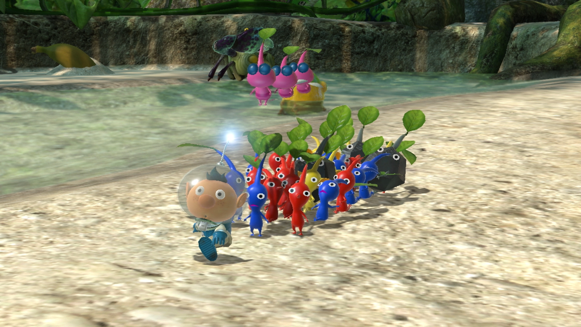 Pikmin 3 Deluxe Demo Available Now New Gameplay Revealed