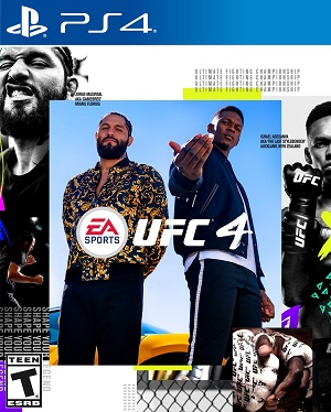 EA Sports UFC 4 Box Art