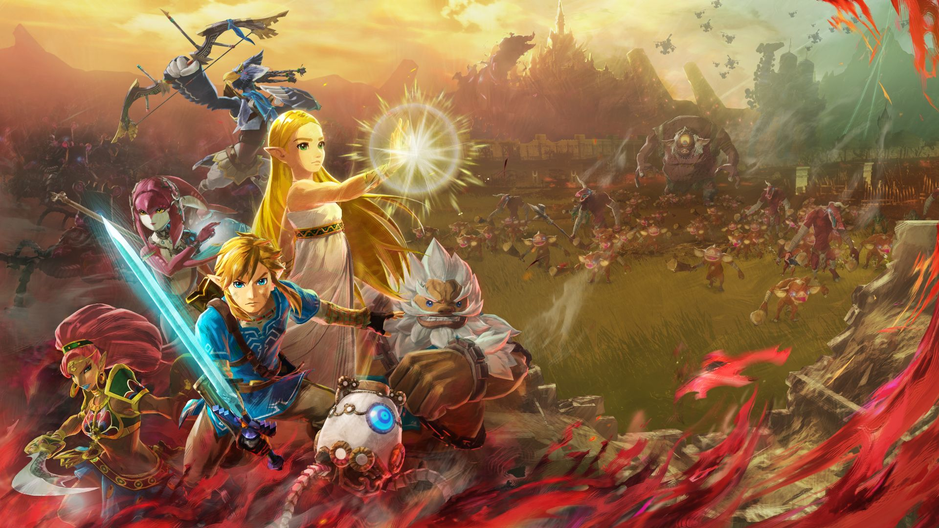 Hyrule Warriors Age Of Calamity Announced Set 100 Years Before Breath Of The Wild