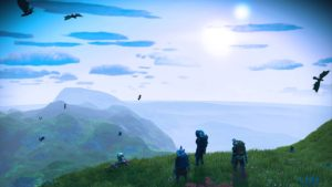 No Guy's Skies-- Origins Revealed in New Trailer, Sand Worms Lastly Included thumbnail
