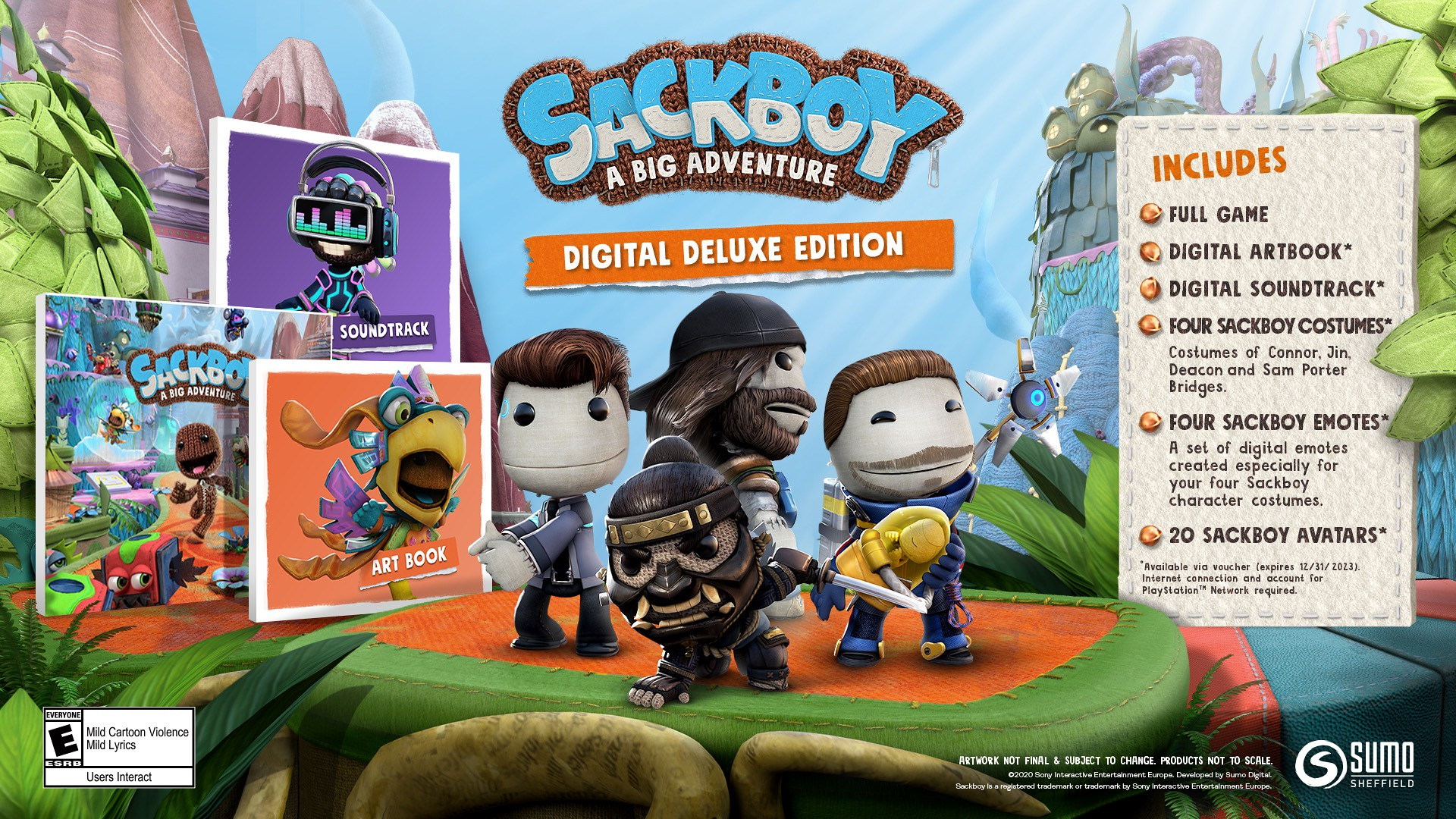 Sackboy Digital Deluxe