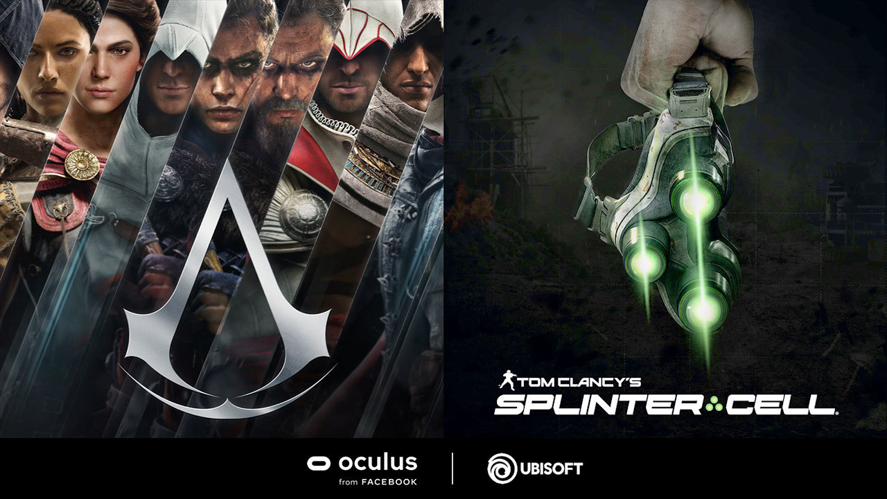 Splinter Cell and AC VR
