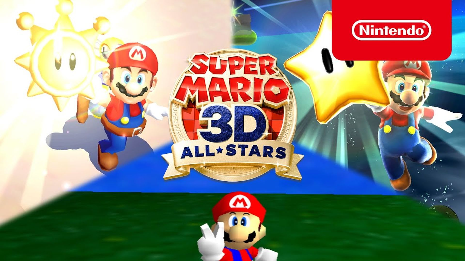 Super Mario 3D All-Stars Announced, Out on September 18th for Switch