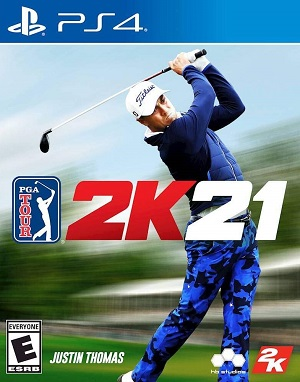 PGA Tour 2K21 Box Art