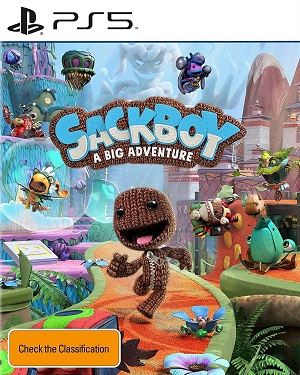 Sackboy: A Big Adventure Box Art