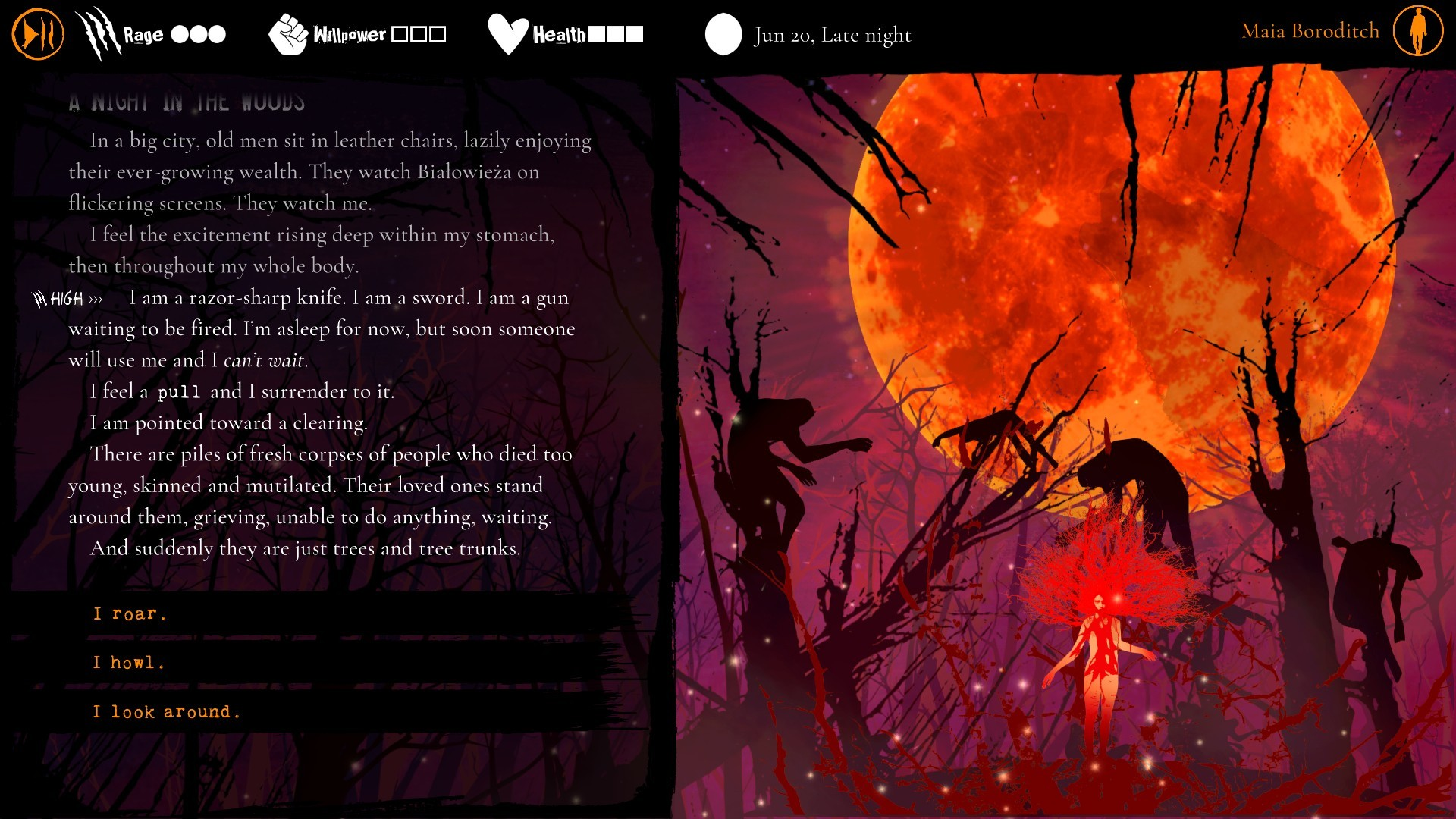 werewolf the apocalypse heart of the forest image 3 |  RPG Jeuxvidéo