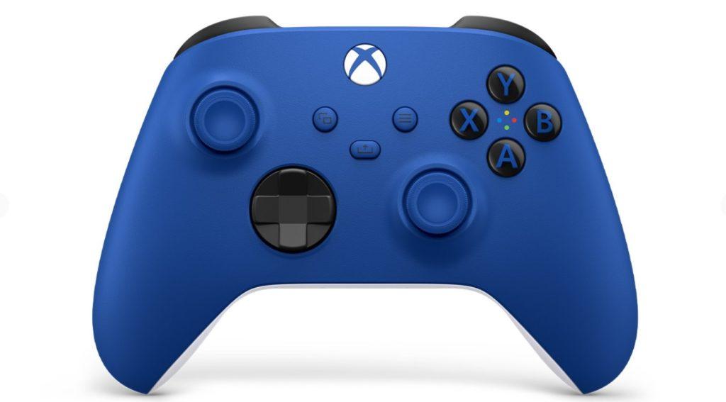 xbox series x blue controller