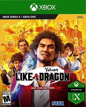 Yakuza: Like a Dragon Box Art