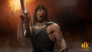 Mortal Kombat 11 Ultimate-- Rambo Draws First Blood in New Trailer thumbnail