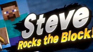 Super Smash Bros. Ultimate-- Minecraft Steve is Next DLC Fighter thumbnail