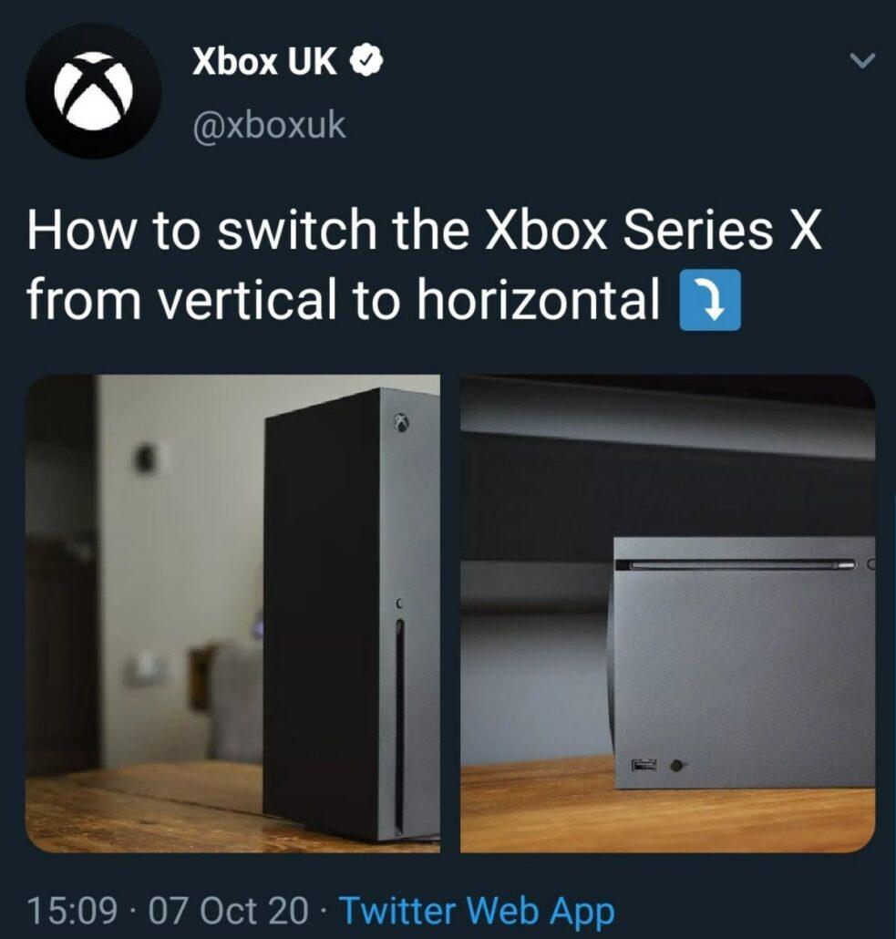 Xbox Series X horizontal
