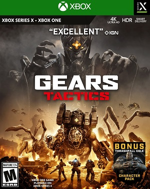 Gears Tactics Box Art