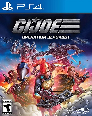 G.I. Joe: Operation Blackout Box Art