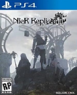 NieR Replicant Box Art