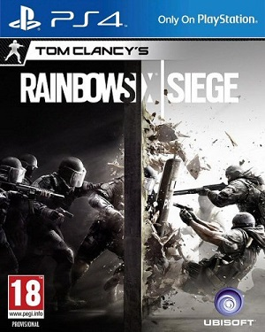 Tom Clancy's Rainbow Six Siege Box Art