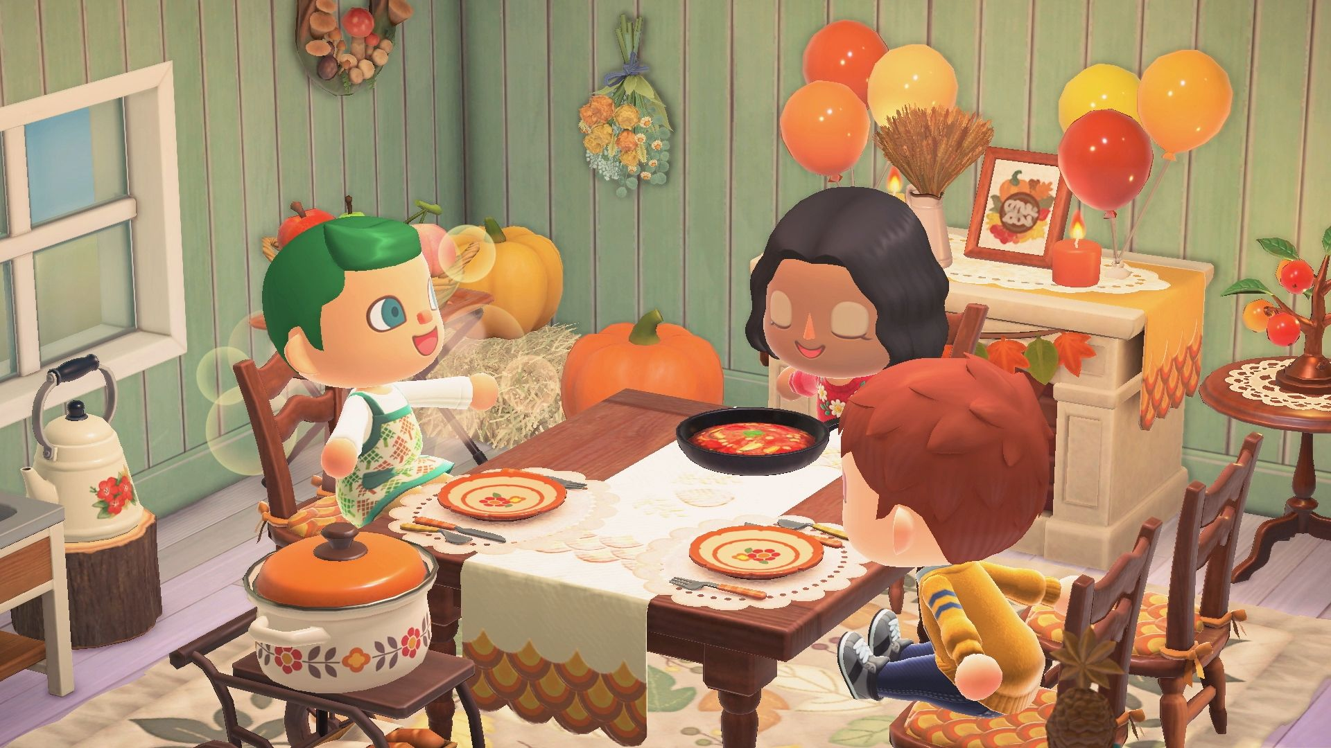 Animal Crossing New Horizons - Turkey Day