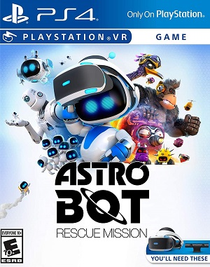 Astro Bot Rescue Mission Box Art
