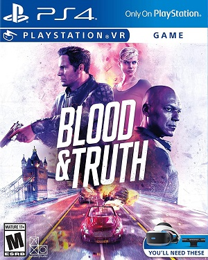 Blood and Truth Box Art