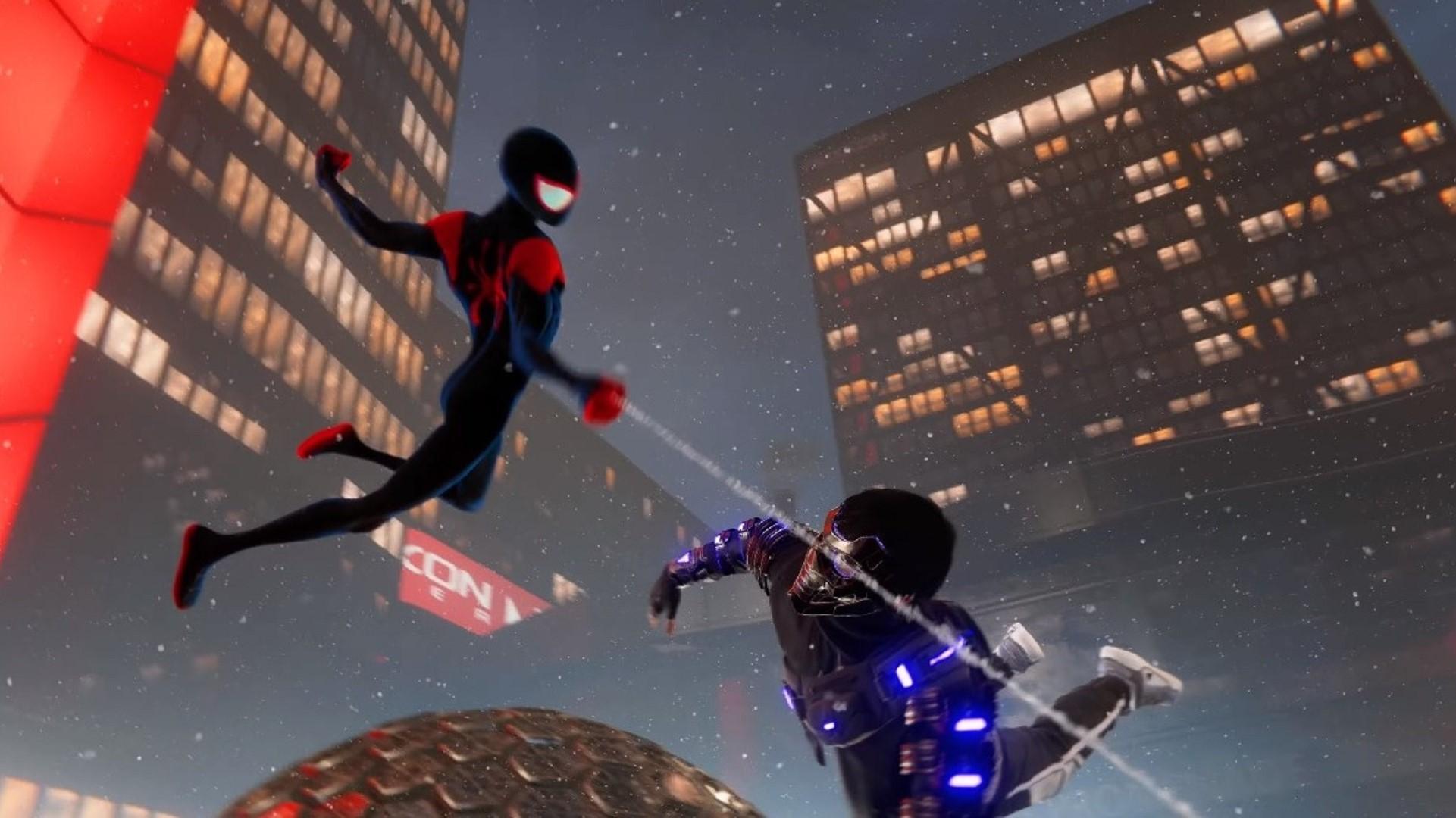 marvels spider-man miles morales spider-verse suit