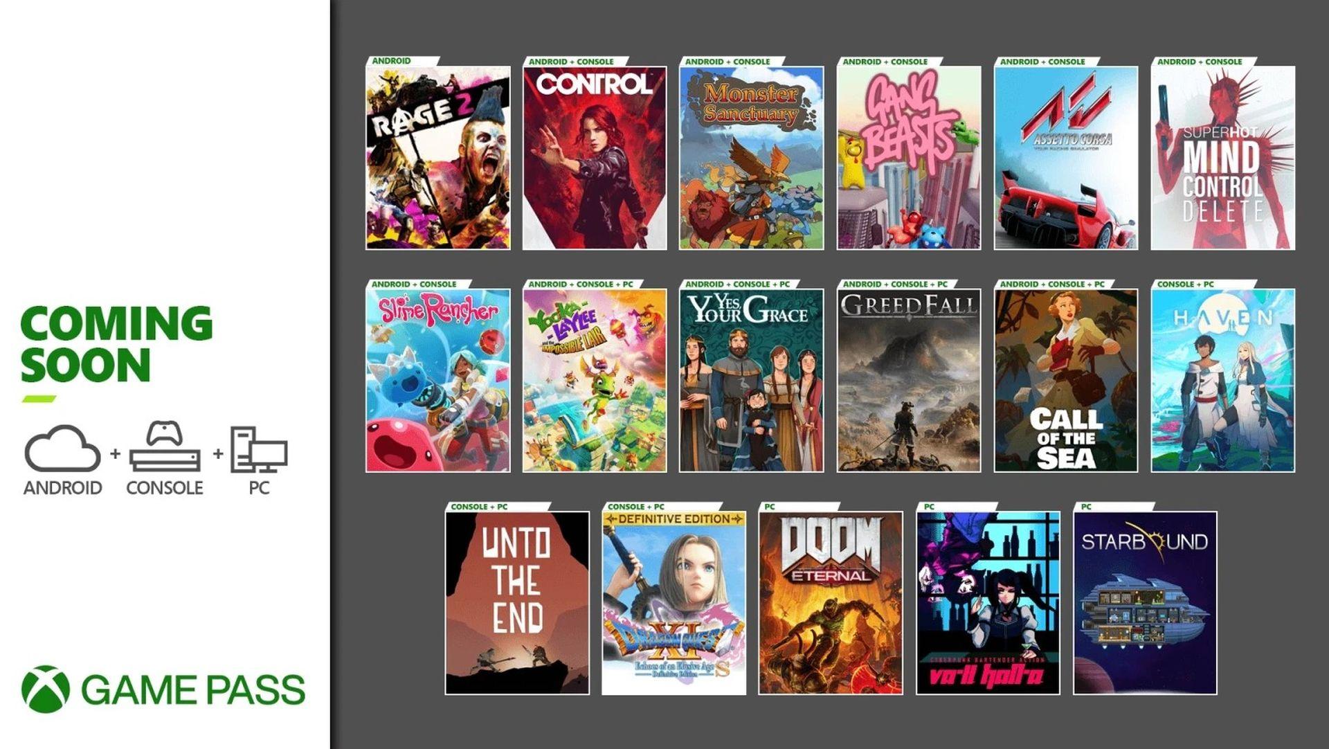 Xbox Game Pass_December 2020