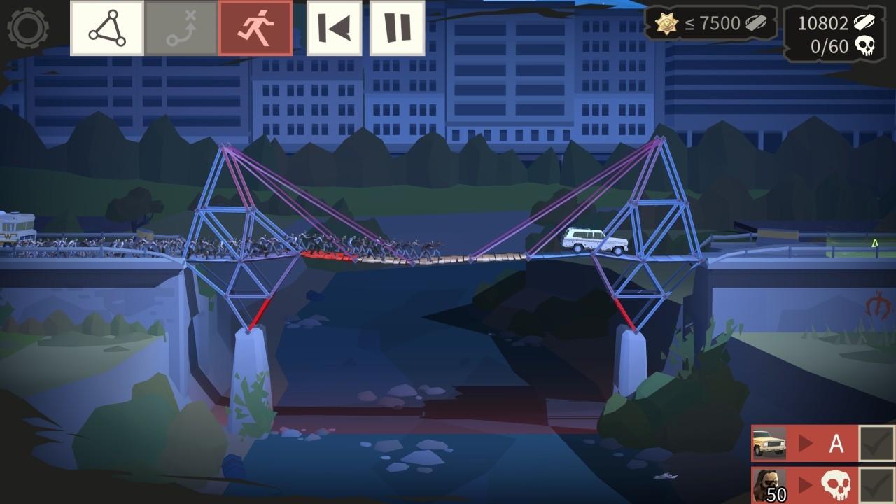 bridge constructor the walking dead