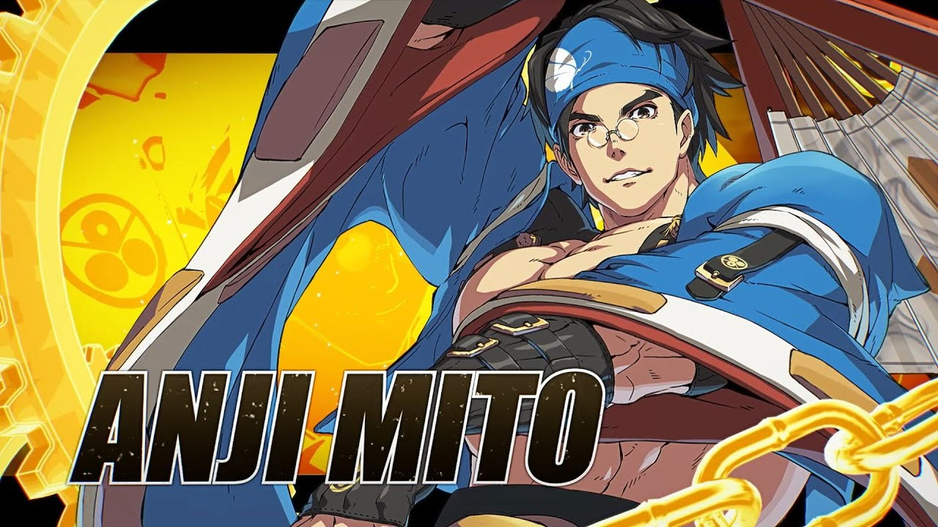 Guilty Gear Strive - Anji Mito