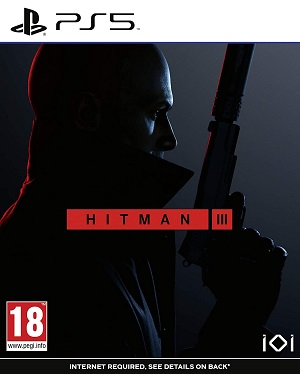 Hitman 3 Box Art