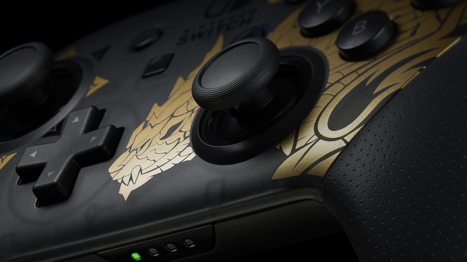 monster hunter rise switch pro controller