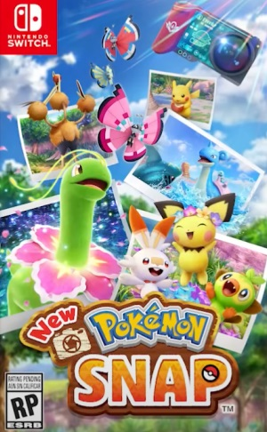 New Pokemon Snap Box Art