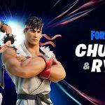Street Fighter's Ryu And Chun-Li Join Fortnite February 20