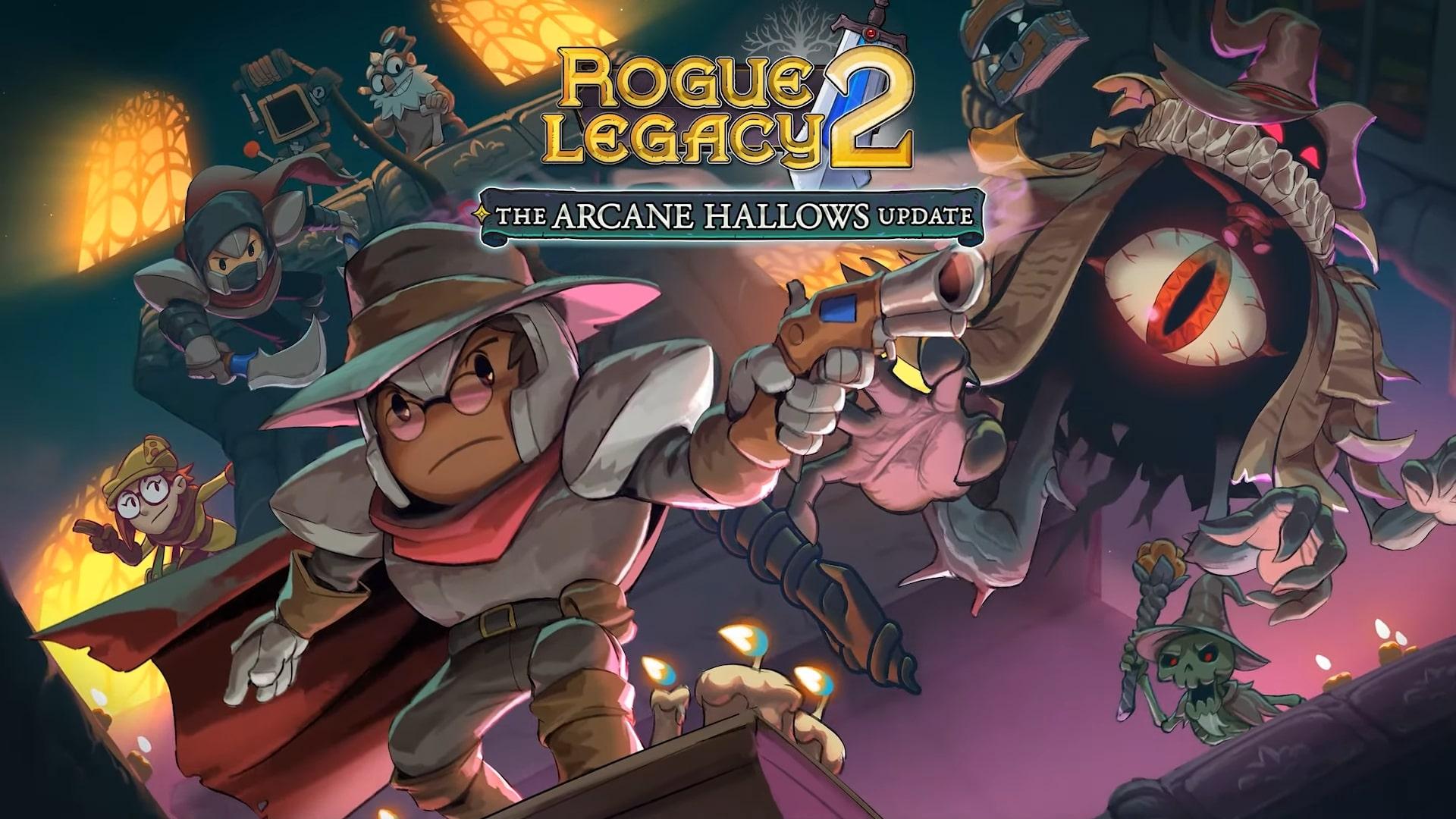 Rogue Legacy 2 Arcane Hallows